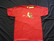 Enjoi Rasta Panda Logo Skateboard T-Shirt Red