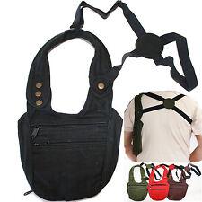 Bolso pistolera holster funda sobaquera Goa laursen Security Bag dinero bolsa de algodón