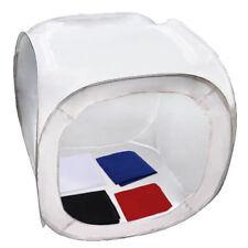 Portable Photo Studio Soft Box Light Tent Box Square Cube w/ Colored Backrops