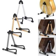 Stand pavimento supporto chitarra classica elettrica pieghevole piedistallo