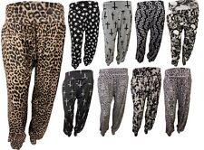 Nouveaux Femmes Plus Size Printed Alibaba Sarouel Pantalon baggy