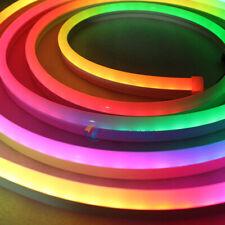 WS2812B 5V WS2811 12V 24V RGB LED Neon Strip 60LEDs/m IP67  Dream full color