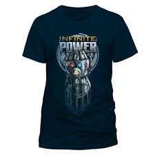 Avengers: INFINITY GUERRA POWER Guante Oficial Camiseta Unisex Azul - Hulk