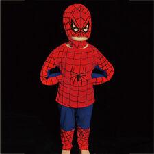 Spiderman Hero Kid Boy Fancy Party Costume Size 2-6 FC005