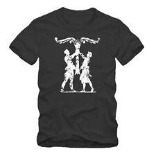 IRMINSUL -  T-Shirt S-XXXL,Odin statt Jesus,Adler greift Fisch,Heiden Viking
