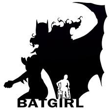 Decal Vinyl Truck Car Sticker - DC Comics Batgirl