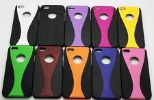 Hard Plastic  Back Protecter Cover Case Skin for iPhone 5 Black Base