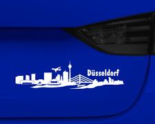 Aufkleber Düsseldorf mit Sehenswürdigkeiten  11 Farben 2 Größen