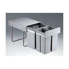 Einbau Mülleimer Abfallsammler 40 Liter 3-fach (versch. Ausführungen / Zubehör)