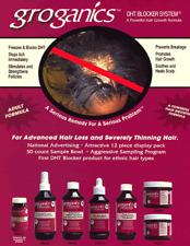 groganics DHT Blocker System- Powerful Hair growth Formula, Scalp conditioning