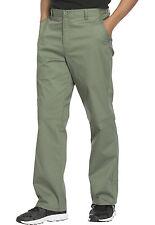 Olive Cherokee Workwear Core Stretch Men 's Fly Front Scrub Pants WW200 OLVW