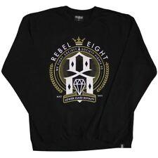 REBEL8 Lower Class Royalty Sweatshirt Black