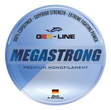 300 m Spule GER-Line MEGASTRONG Monofilschnur monofilament line MADE IN GERMANY