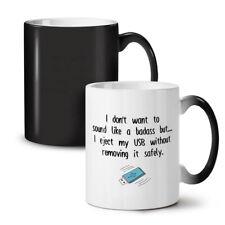 USB Remove Safe NEW Colour Changing Tea Coffee Mug 11 oz | Wellcoda