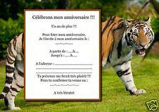 5 o 12 invitaciones de cumpleaños REF 940