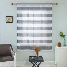 Beauty Roman Curtain Short Sheer Tie Up Window Balloon Shade Sheer Voile
