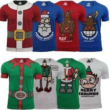 Mens Xmas/ Christmas T-Shirt by Xplicit Novelty Festive Prints