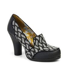 Ruby Shoo Kaylee Court Shoe Pumps Brown Tweed / Black UK3-9 36-42