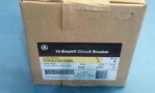 GE GENERAL ELECTRIC THFK236125WL NEW CIRCUIT BREAKER 3 POLE  125 AMP 600 VAC