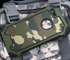 Samsung Galaxy S6 Edge S7 S9 Plus Camouflage Military Case Slim Camo Army Rugged