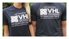 VHL UK/Ireland VHL Disease Charity Navy Sports T-shirt UNISEX