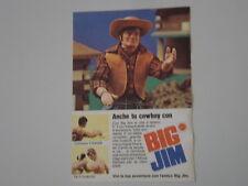 advertising Pubblicità 1973 BIG JIM COWBOY MATTEL