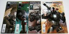 Iron Man 2.0 #1,#2,#3,#4 All Signed:Barry Kitson Coa War Machine Marvel Comics