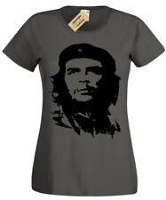 Che Guevara Camiseta Mujer S-2XL Impresión Blusa para Mujer Retro