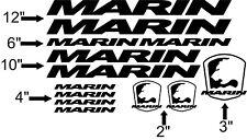 Custom Marin Bike Frame Decal Set. Pick Your Color. USA Seller!