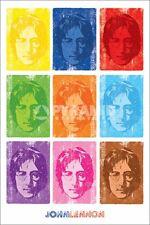 Poster Musica John Lennon Beatles Stile Pop Art originale Import UK