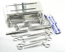 Vétérinaire Équin Set Chirurgical Paquet de 57 Instruments en boîte CE R-98-1313