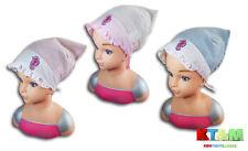 Toddler Girl Summer Cotton Beach Holiday Hat Cap Head Scarf 9-24 Months Seahorse