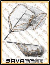 Guadino alluminio Savage Gear manico alluminio rete gommata chiudibile