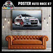 POSTER QUADRO AUTO RACE 07 FIAT ABARTH PUNTO CAR FOTOGRAFICA 35x50 50x70 70x100