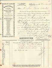NÜRNBERG, Rechnung 1899, Delikatesskäse-Grosshandlung Westphal & Doelzl