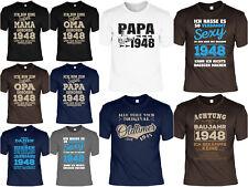 T-Shirt 70.Geburtstag - 70 Jahre coole Sprüche Motive Geburtstag 1948 - Geb 70