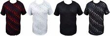 Bleecker And Mercer Mens  T-Shirt Destroyed Ripped Torn Shirt Hip Hop Swag