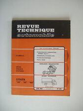 REVUE TECHNIQUE RTA CITROËN 350/370 & 450 moteur essence-CITROËN DYANE 6