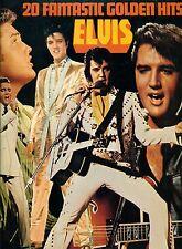"""ELVIS PRESLEY - 20 FANTASTIC GOLDEN HITS 12"""" LP (L6571)"""