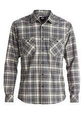 Quiksilver Everyday Flannel L/S Regular Fit Flannel Woven Shirt Sz Medium
