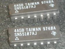 SN55107AJ DUAL RECEIVER  1PC