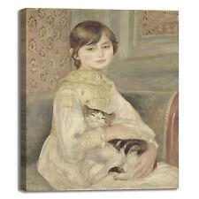 Renoir Julie Manet design quadro stampa tela dipinto telaio arredo casa