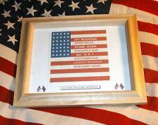 35 star American Civil War Flag.....2nd Ohio Infantry