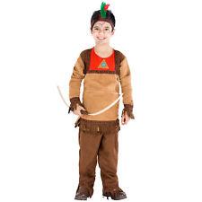 Déguisement pour garçon indien ouest sauvage rouge indiens costume entfant