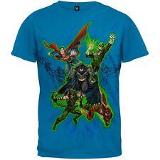 DC Comics - Flying Heroes Adult Mens T-Shirt