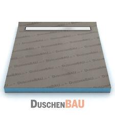 Duschelement mit Alca APZ106 Rinne befliesbar bodeneben Duschboard Duschtasse