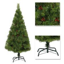 Folta Natale Albero con Bacche Decorazioni di Natale Arredo Casa Regali Verde