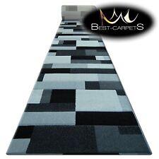 CHEMIN DE TABLE Tapis,Pilly 8403 noir / argent,moderne,Escaliers largeur