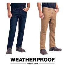 50057b5f Men's Weatherproof Vintage 1948 Fleece-Lined stretch Classic Straight Leg  Jeans