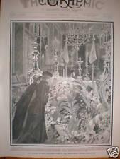 La MORTE DI RE CRISTIANO IX di Danimarca 1906